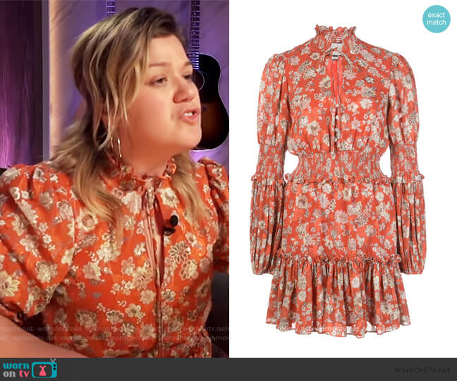 Rosewell Dress by Alexis worn by Kelly Clarkson  on The Kelly Clarkson Show