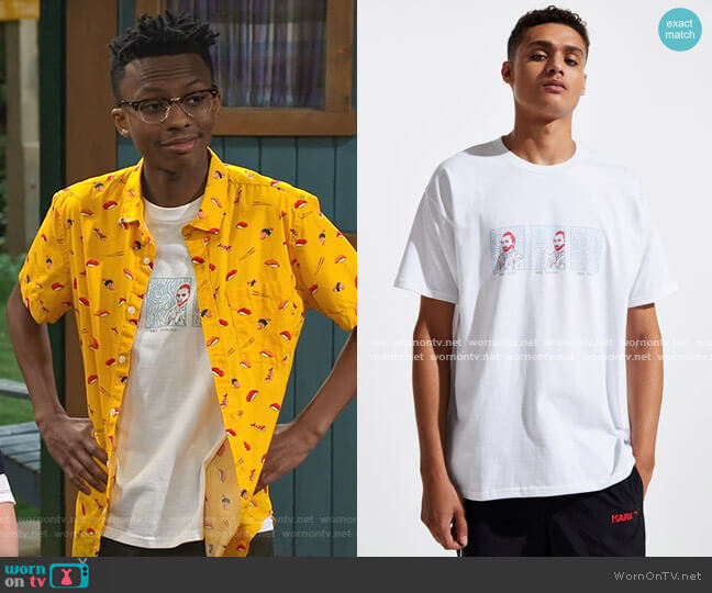 Van Gone Tee by Altru Apparel worn by Noah Lambert (Israel Johnson) on Bunkd
