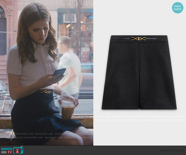 Mini Skirt in Japanese Flannel by Celine worn by Darby (Anna Kendrick) on Love Life