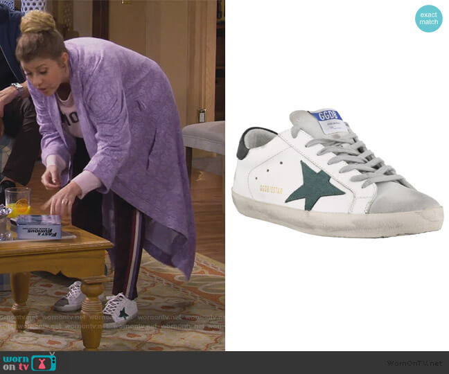 Superstar Sneakers by Golden Goose worn by Stephanie Tanner (Jodie Sweetin) on Fuller House