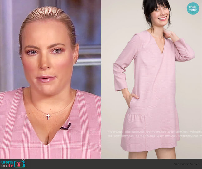 The Heidi Dress by Hatch worn by Meghan McCain  on The View