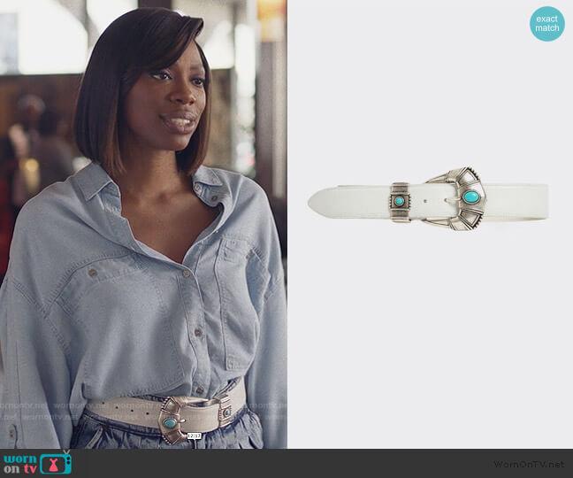 Siden Belt by Iro worn by Molly Carter (Yvonne Orji) on Insecure