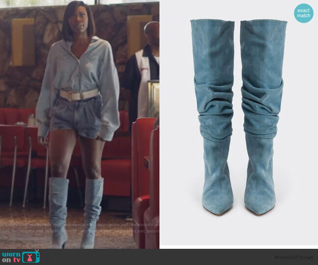 Bottes Baily Boots by Iro worn by Molly Carter (Yvonne Orji) on Insecure