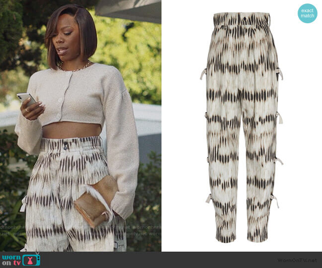 Izard High Waisted Slacks by Isabel Marant worn by Molly Carter (Yvonne Orji) on Insecure