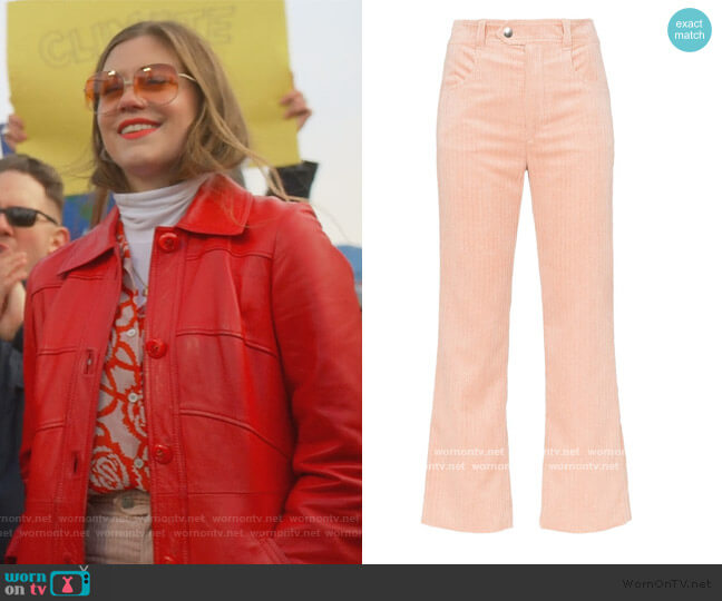 Meero Corduroy Trousers by Isabel Marant worn by McAfee (Laura Dreyfuss) on The Politician