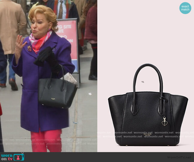 Grace Medium Satchel by Kate Spade worn by Hadassah Gold (Bette Midler) on The Politician