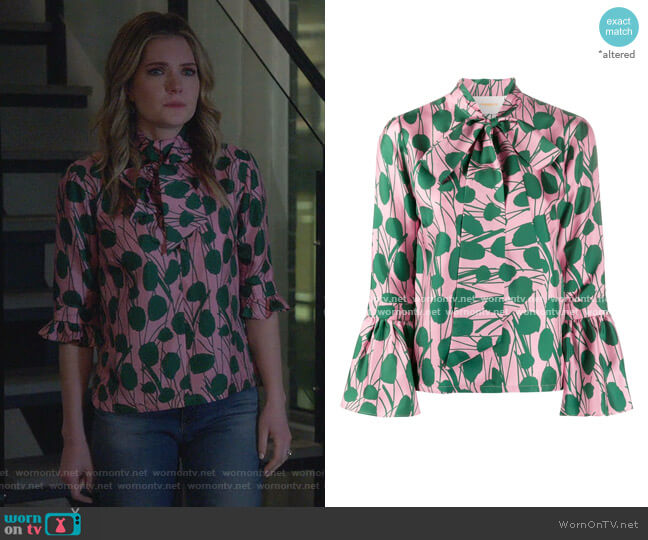 Happy Wrist Top by La Doublej worn by Sutton (Meghann Fahy) on The Bold Type