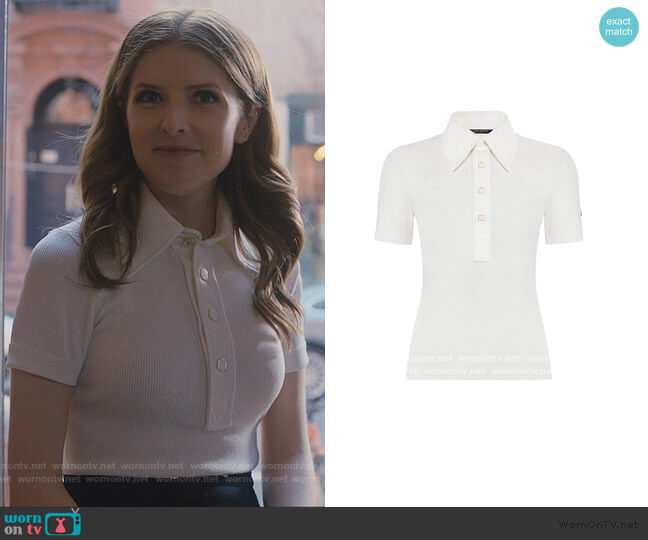 Knit Polo by Louis Vuitton worn by Darby (Anna Kendrick) on Love Life