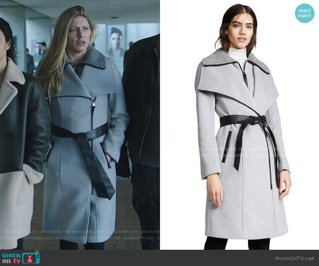 Nori-K Coat by Mackage worn by Ava Sharpe (Jes Macallan) on Legends of Tomorrow