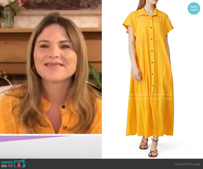 Aimilios Maxi Dress by Mara Hoffman worn by Jenna Bush Hager  on Today