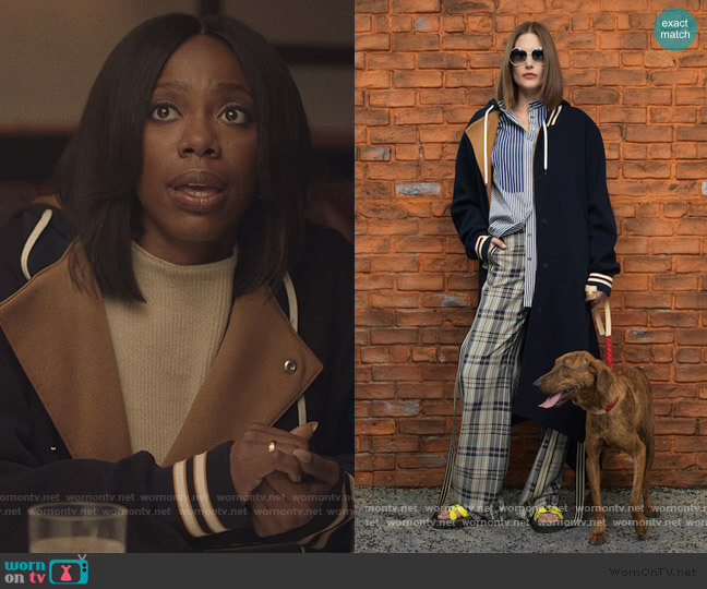 2019 Pre Fall Collection by Monse worn by Molly Carter (Yvonne Orji) on Insecure
