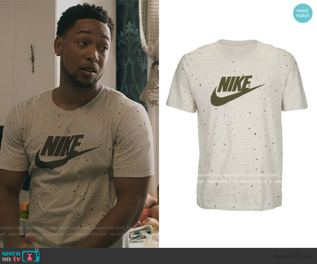 Star Tee by Nike worn by Emmett (Jacob Latimore) on The Chi