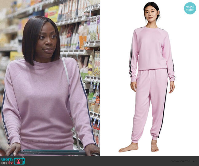 Missy Tracksuit by Olivia von Halle worn by Molly Carter (Yvonne Orji) on Insecure