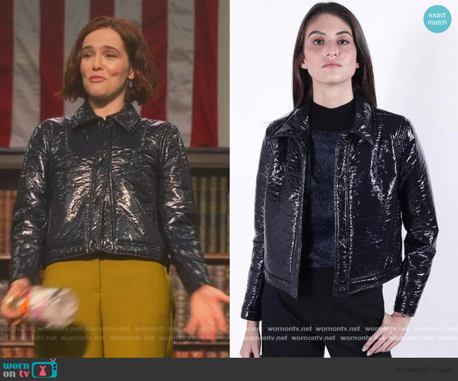 Quest Jacket by Rachel Comey worn by Infinity Jackson (Zoey Deutch) on The Politician