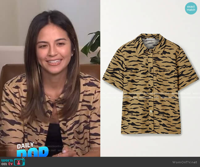 Nico Shirt by Rejina Pyo worn by Erin Lim  on E! News
