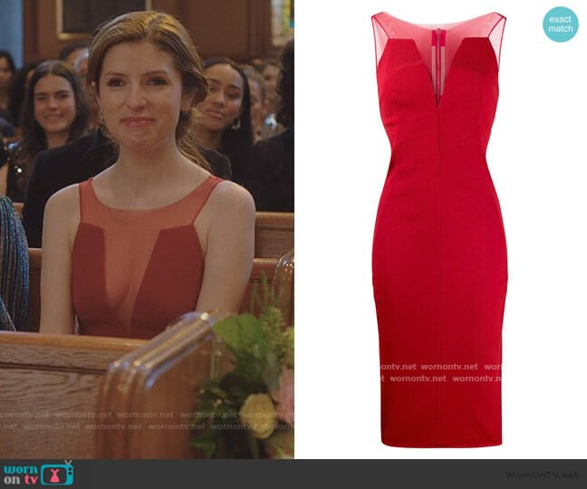 Mesh Panelled Dress by Rick Owens worn by Darby (Anna Kendrick) on Love Life