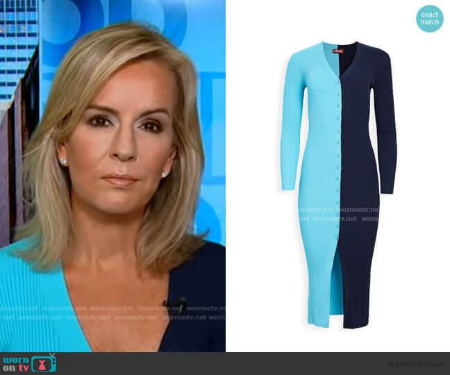 Shoko Sweater by Staud worn by Dr. Jennifer Ashton  on Good Morning America