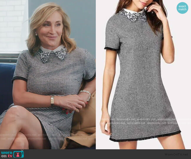 Alicia Mini Dress by Sonja worn by Sonja Morgan  on The Real Housewives of New York City