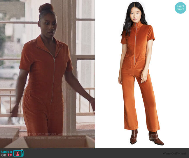Ziggy Jumpsuit by Staud worn by Issa Dee (Issa Rae) on Insecure