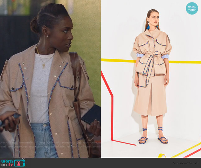 2020 Resort Collection by Stella Jean worn by Issa Dee (Issa Rae) on Insecure