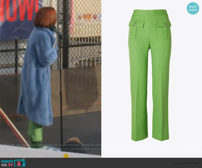 D-ring Pants by Tory Burch worn by Infinity Jackson (Zoey Deutch) on The Politician