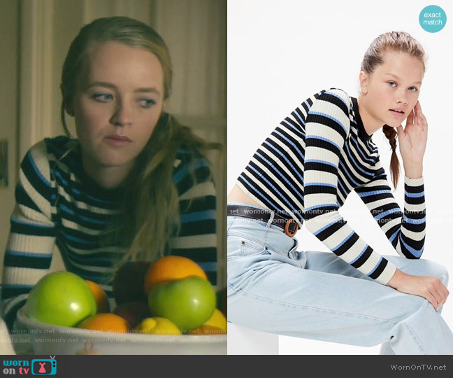 Odd Striped Sweater by Urban Outfitters worn by Anna Jacoby-Heron on Dirty John