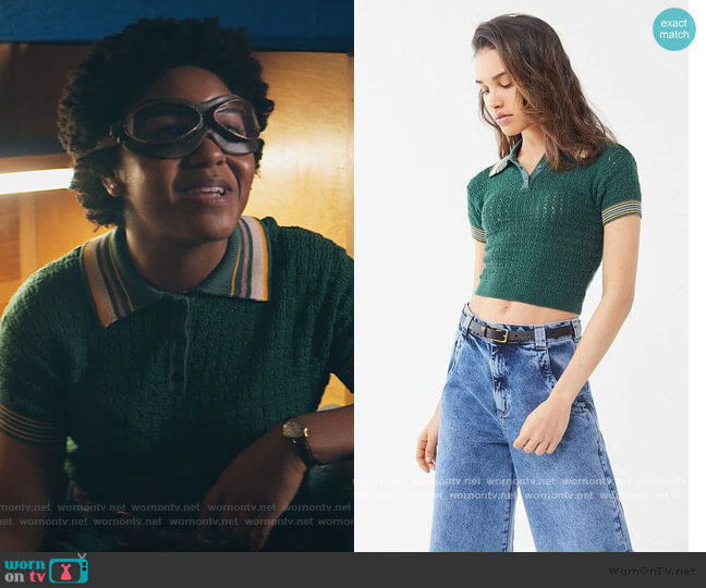 Rue Polo Sweater by Urban Outfitters worn by Courtney Whitemore (Brec Bassinger) on Stargirl