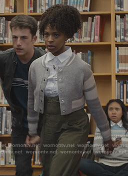 Ani's green overalls on 13 Reasons Why