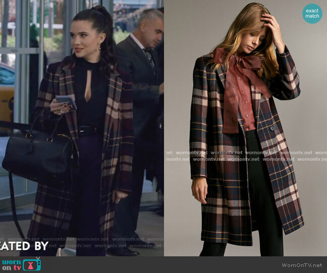Stedman Coat by Babaton worn by Jane Sloan (Katie Stevens) on The Bold Type