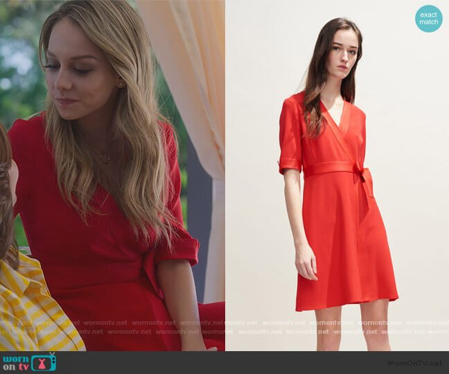 Rosilea Dress by Claudie Pielot worn by Carla Roson Caleruega (Ester Exposito) on Elite