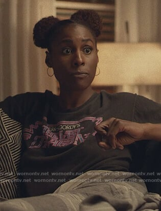 Issa's The Last Dragon tee on Insecure