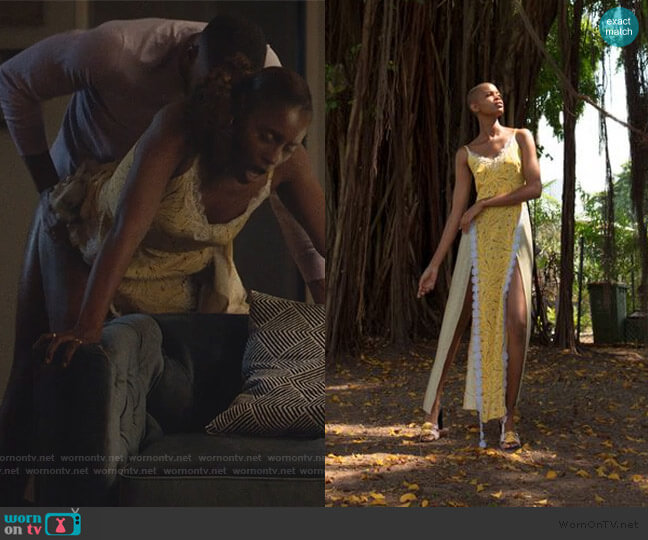 2019 S/S Collection by Lisa Folawiyo worn by Issa Dee (Issa Rae) on Insecure