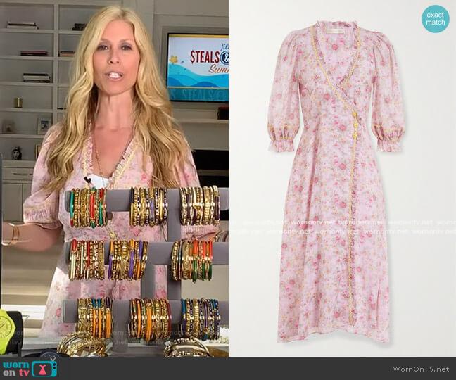 Sarabeth Dress by LoveShackFancy worn by Jill Martin  on Today