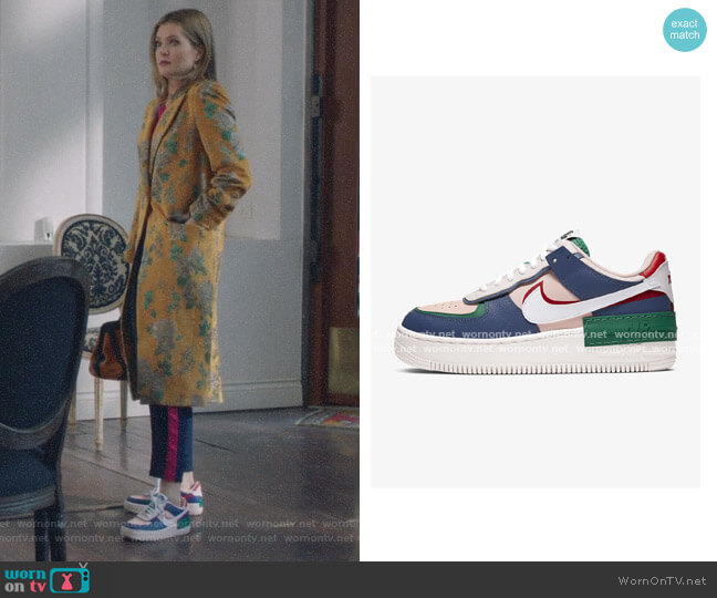Air Force 1 Shadow by Nike worn by Sutton (Meghann Fahy) on The Bold Type