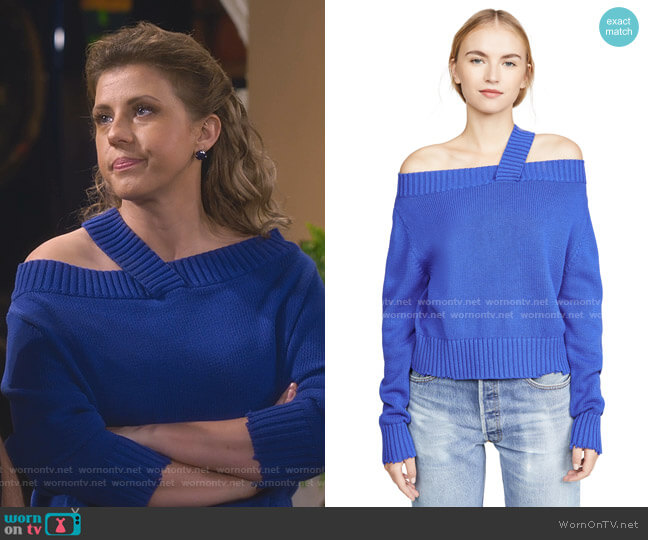 Beckett Sweater by RtA worn by Stephanie Tanner (Jodie Sweetin) on Fuller House