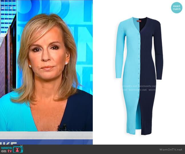 Shoko Sweater by Staud worn by Dr. Jennifer Ashton on GMA