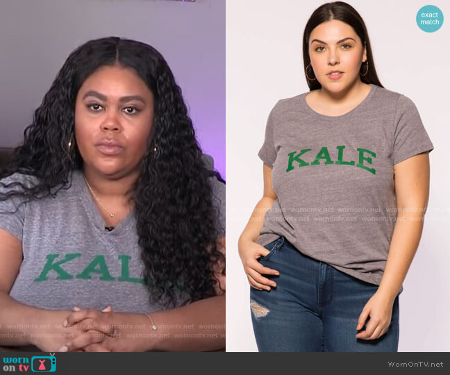 Kale Plus Tee by Sub_Urban Riot worn by Nina Parker  on E! News
