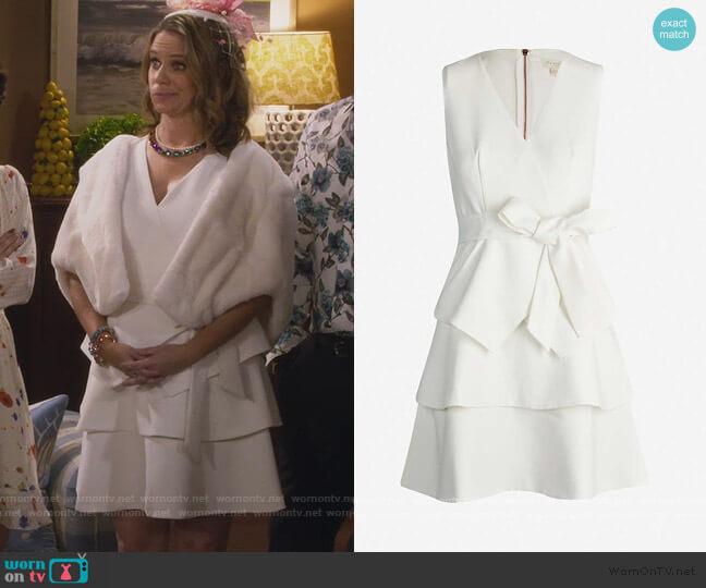 Reinah Dress by Ted Baker worn by Kimmy Gibbler (Andrea Barber) on Fuller House