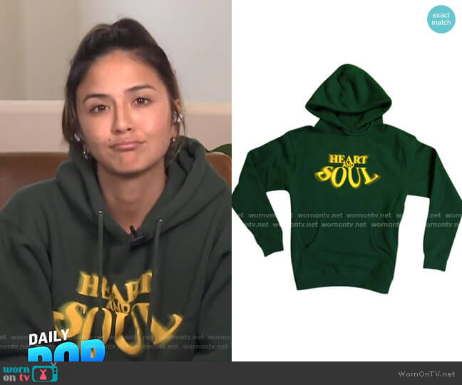 Heart & Soul Hoodie by The Last Adam worn by Erin Lim  on E! News