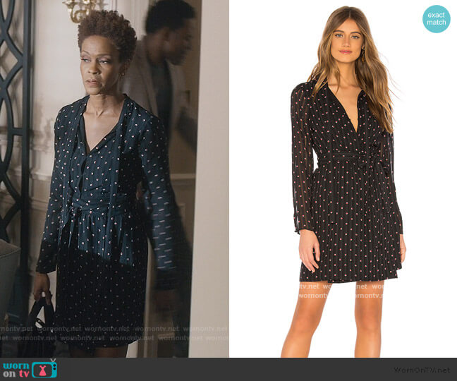 Leila Mini Dress by Alexis worn by Kerissa Greenleaf (Kim Hawthorne) on Greenleaf