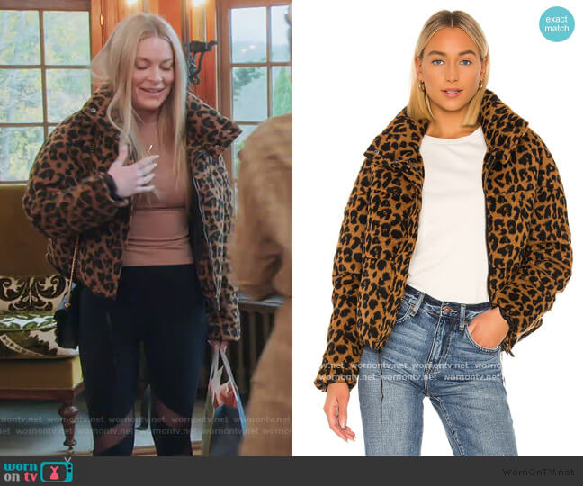 Paula Puffer Jacket  by Apparis worn by Leah McSweeney  on The Real Housewives of New York City