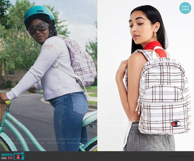 Supercize Mini Backpack by Champion worn by Beth Chapel (Anjelika Washington) on Stargirl
