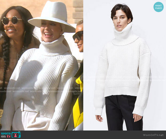 Knit Sweater by Melitta Baumeister worn by Erika Girardi  on The Real Housewives of Beverly Hills