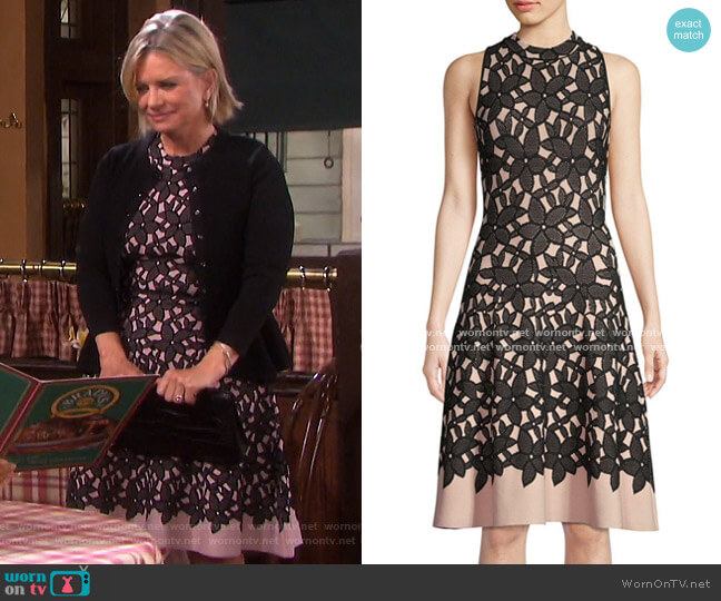 Floral Dress by Milly worn by Kayla Brady (Mary Beth Evans) on Days of our Lives