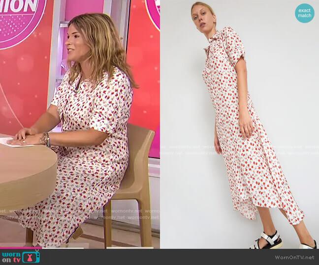 Brixton Shirt Dress by No.6  worn by Jenna Bush Hager  on Today