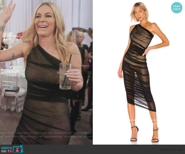Diana Gown by Norma Kamali worn by Leah McSweeney  on The Real Housewives of New York City