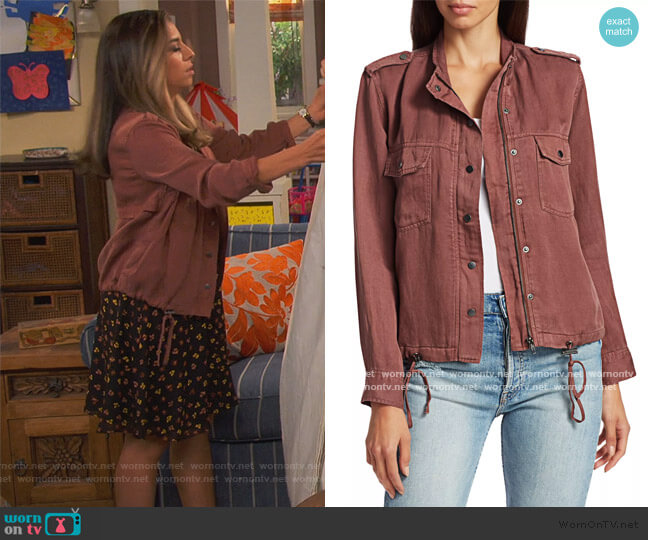 Collins Jacket by Rails worn by Jo (Christina Vidal Mitchell) on United We Fall