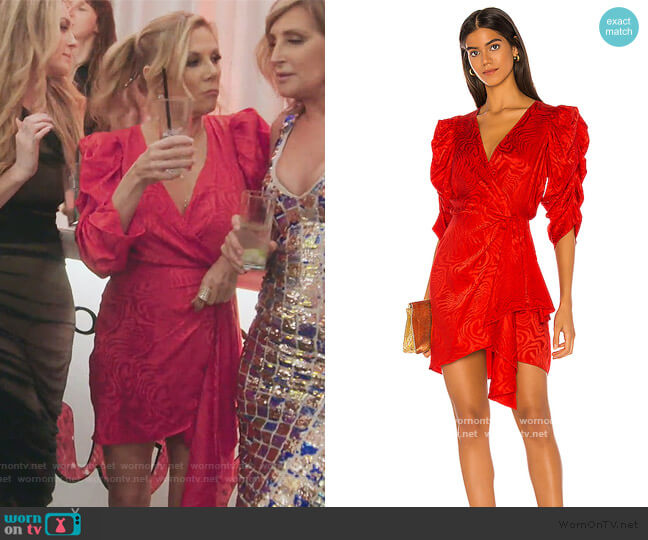 Amara Dress by Ronny Kobo worn by Ramona Singer  on The Real Housewives of New York City