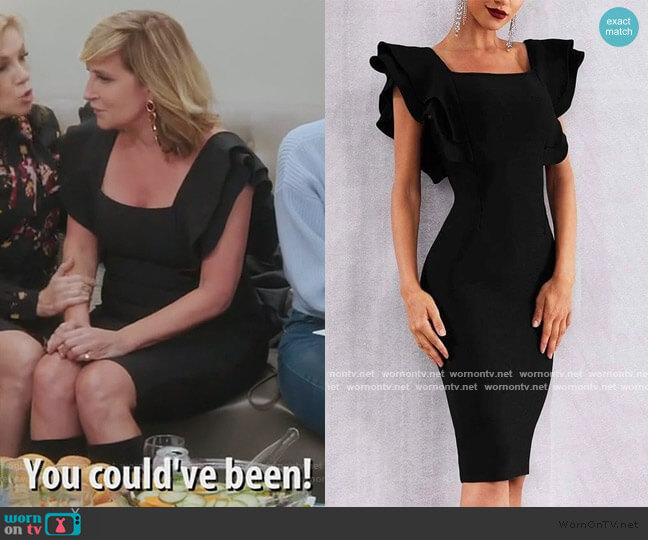 Whitney Dress by Sonja worn by Sonja Morgan  on The Real Housewives of New York City