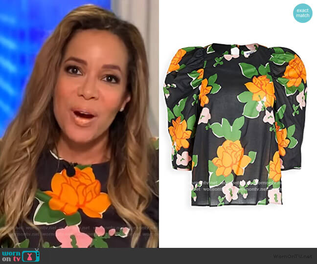 Clare Top by Whit worn by Sunny Hostin  on The View
